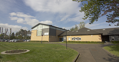 Gannochy Trust Centre for Expressive Arts Building