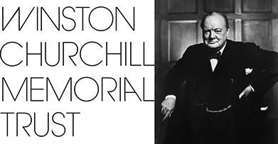 Winston Churchill Memorial Trust logo & photo