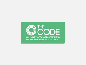 Voluntary Code of Practice for Social Enterprise in Scotland Logo