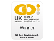 Go Awards logo - public procurement